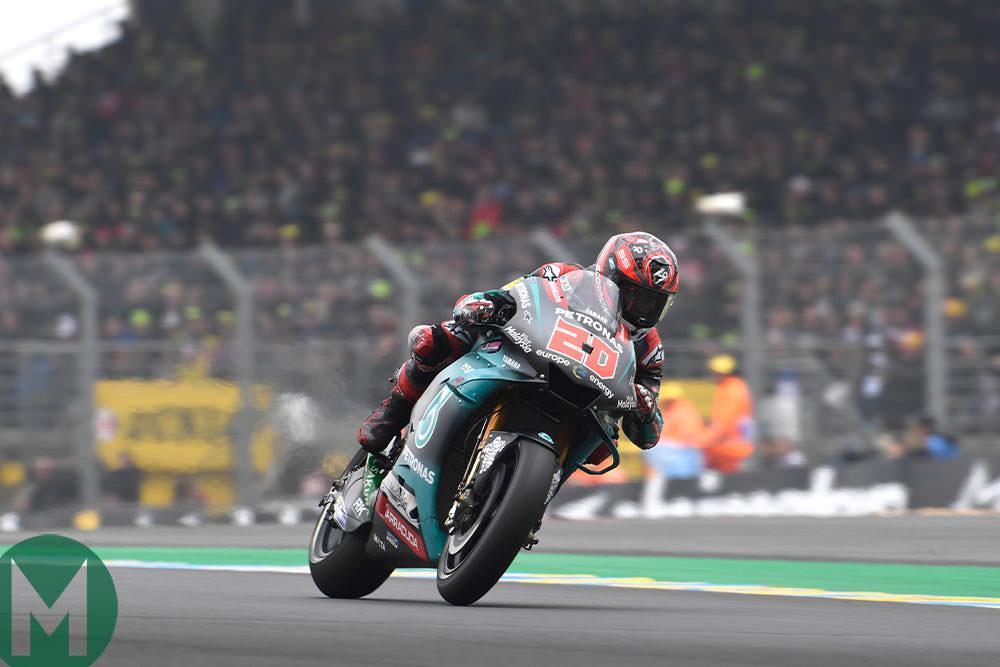 Fabio Quartararo 2019 Le Mans MotogP