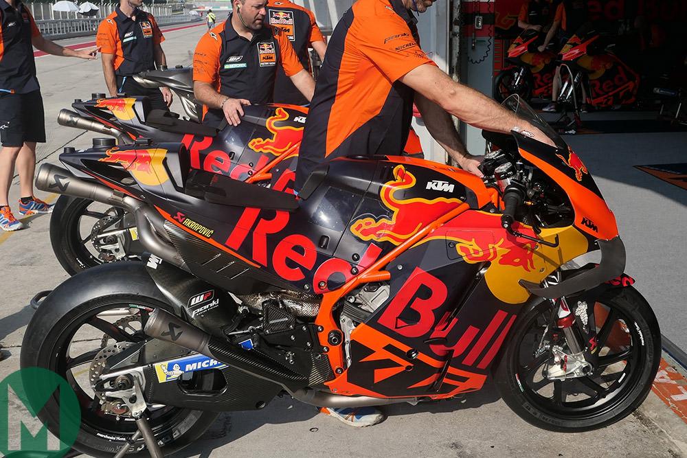 Johann Zarco KTM RC16 Sepang MotoGP 2019