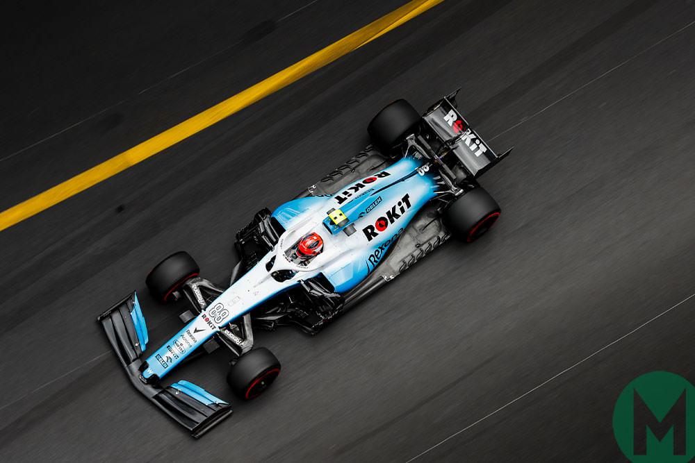 Robert Kubica 2019 Monaco F1 Grand Prix
