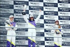 Jamie Chadwick wins first all-female W Series race with stand-out drive