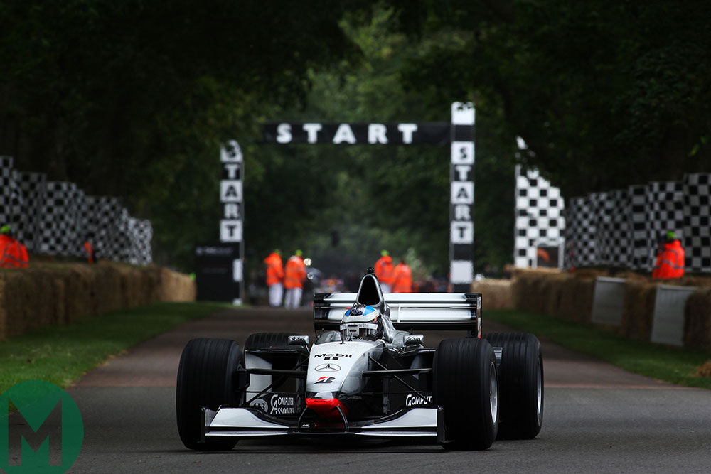 Watch: Nick Heidfeld's record Goodwood hillclimb