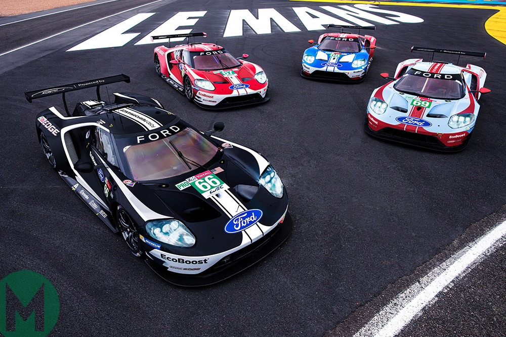 Ford GTs to sport retro liveries Le Mans 2019