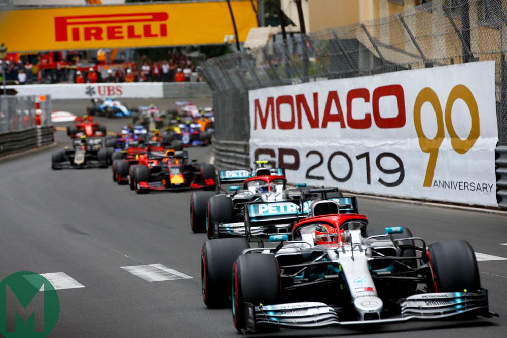 2019 Monaco Grand Prix — race results