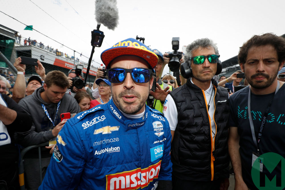 McLaren video shows failed bid to qualify for Indy 500 with Alonso