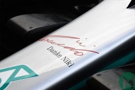 Racing world pays tribute to Niki Lauda