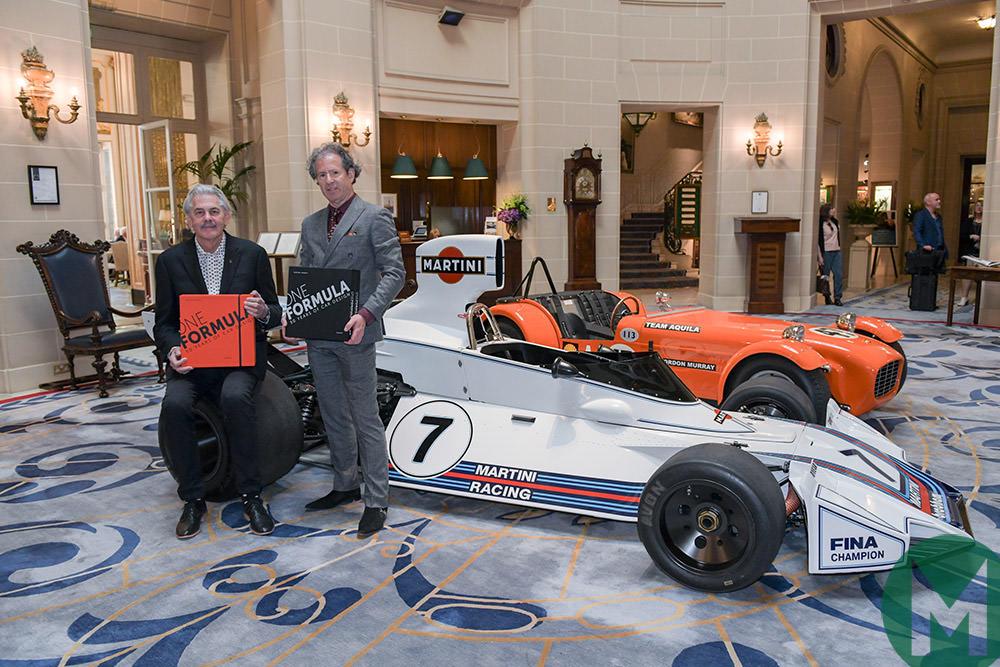 Legendary F1 designer Gordon Murray launches new book
