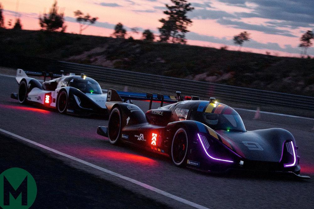 First Roborace driverless car race held in Spain