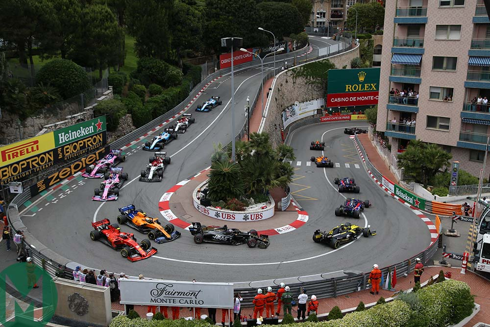 2019 Monaco Grand Prix Loews hairpin
