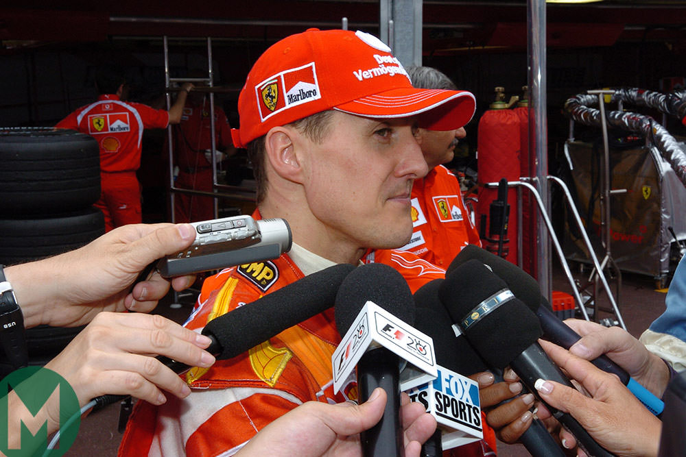 Michael Schumacher, Monaco 2006