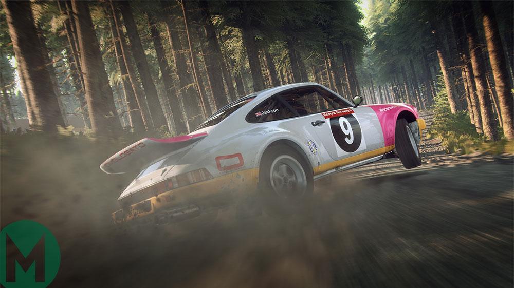 Porsche 911 SC Dirt Rally 2.0 DLC