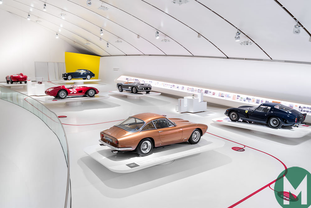 "Ferrari ""Timeless Masterpieces"" exhibition 2019"