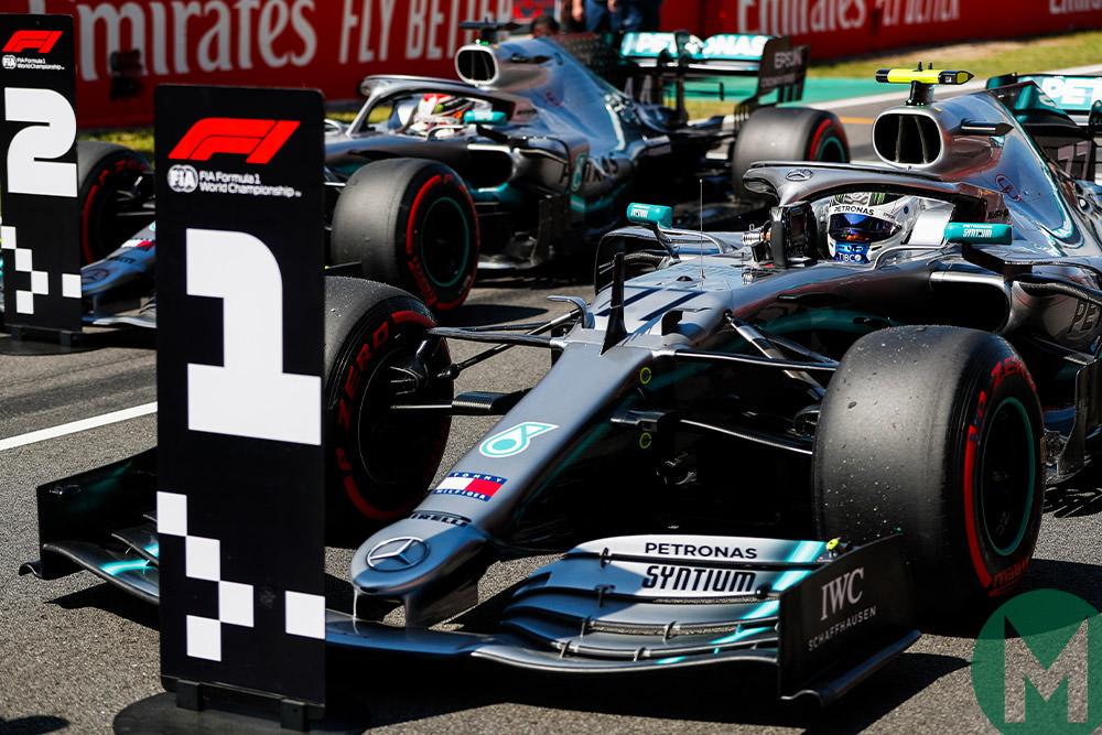 Mercedes 1-2 Spanish GP 2019