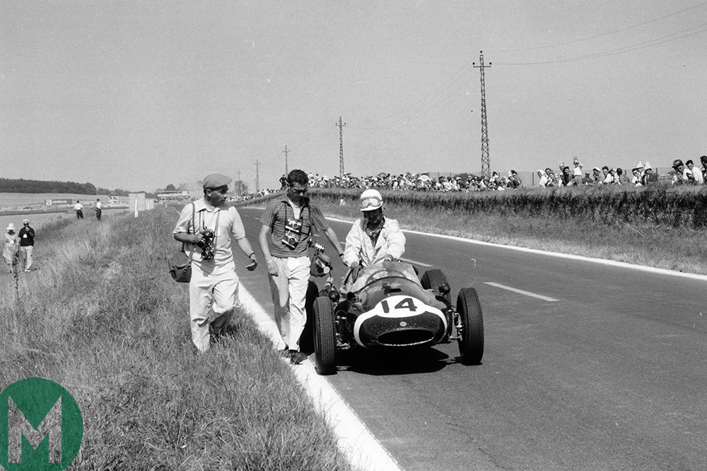 Maurice Trintignant 1959 Reims
