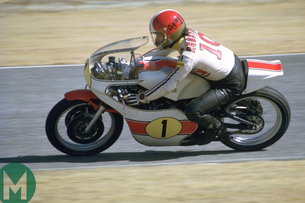 Giacomo Agostino on a Yamaha in 1975