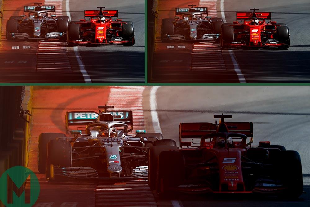 Vettel and Hamilton track rejoining controversy 2019 Canadian Grand Prix