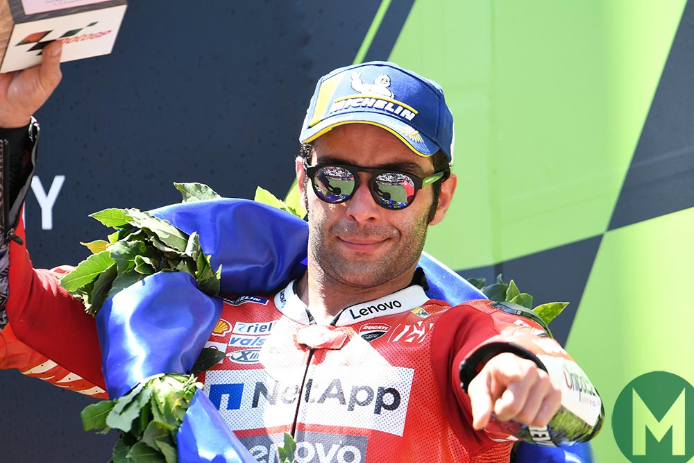 Is Petrucci breaking his word to target the title? More from the MotoGP Catalan Grand Prix
