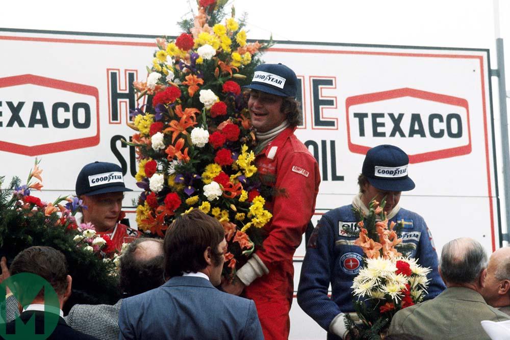 Gunnar Nilsson 1977 Belgian Grand Prix victory