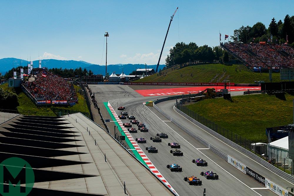 Austrian Grand Prix start