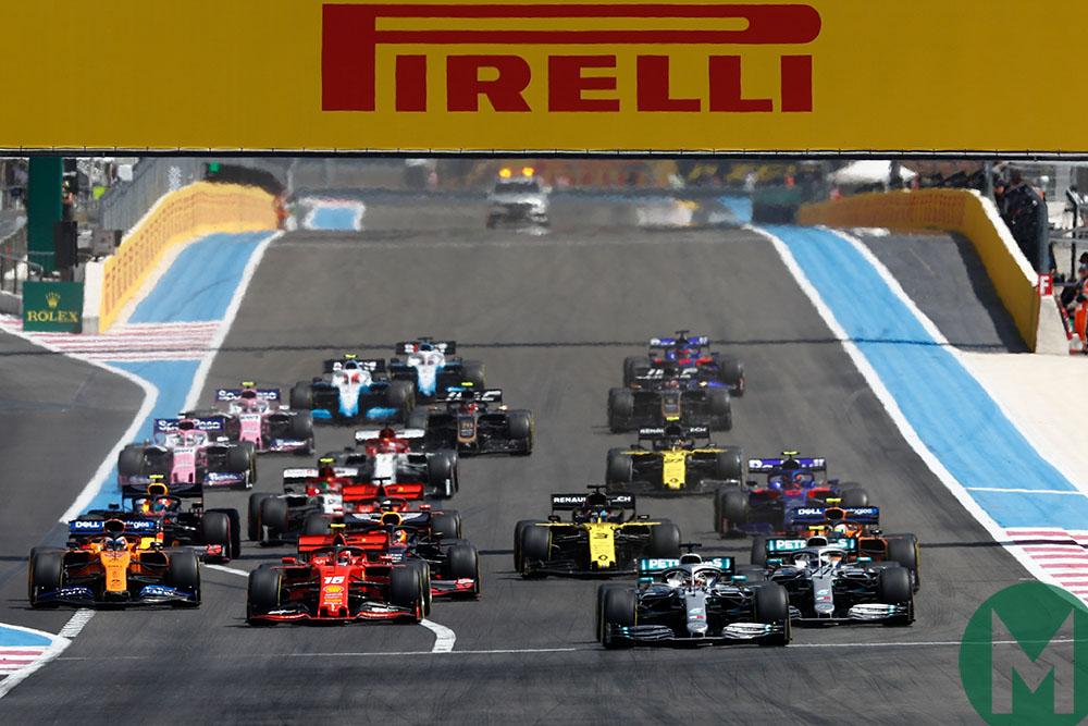 French Grand Prix start 2019