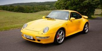 For auction: 1997 Porsche 993 Turbo   Sponsored