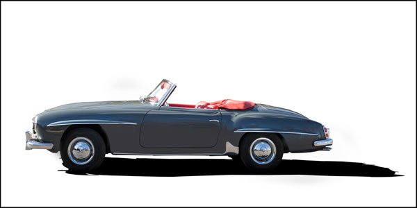 For auction: 1962 Mercedes 190 SL | Sponsored