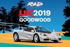 Goodwood to host '80s &'90s RADwood summer car event