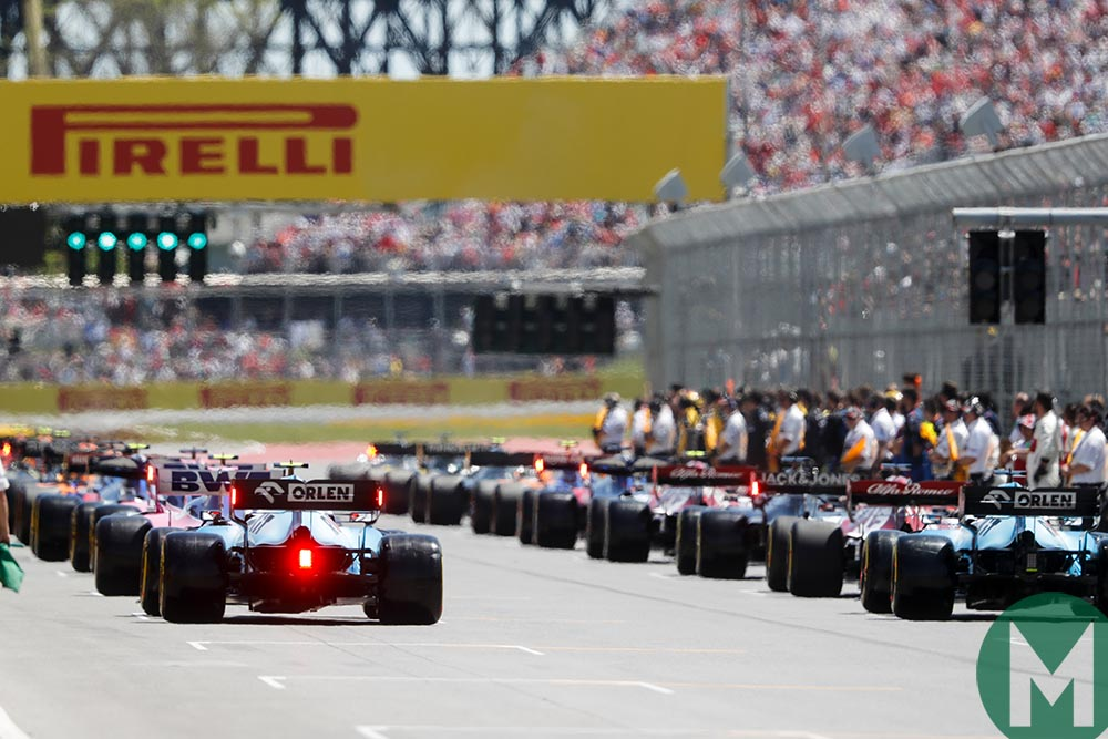 2019 Canadian Grand Prix – race results