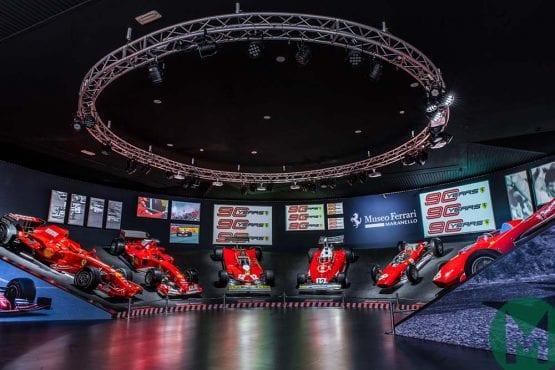 Ferrari Museum celebrates 90 years of racing, from Ascari to Vettel