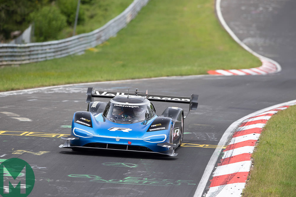 VW IDR sets new electric Nürburgring record