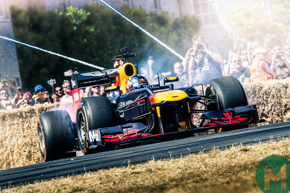 Goodwood FoS confirms F1 drivers