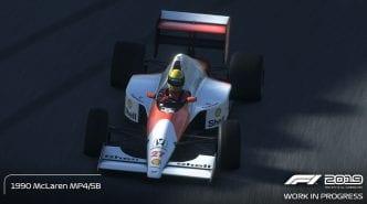 F1 2019 game classic car list