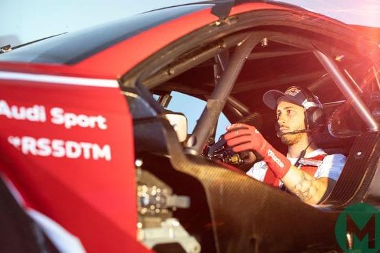 Watch Andrea Dovizioso's DTM debut live
