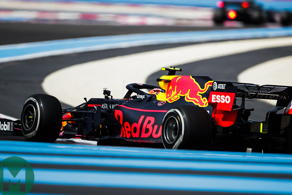 Max Verstappen at the 2019 French Grand Prix
