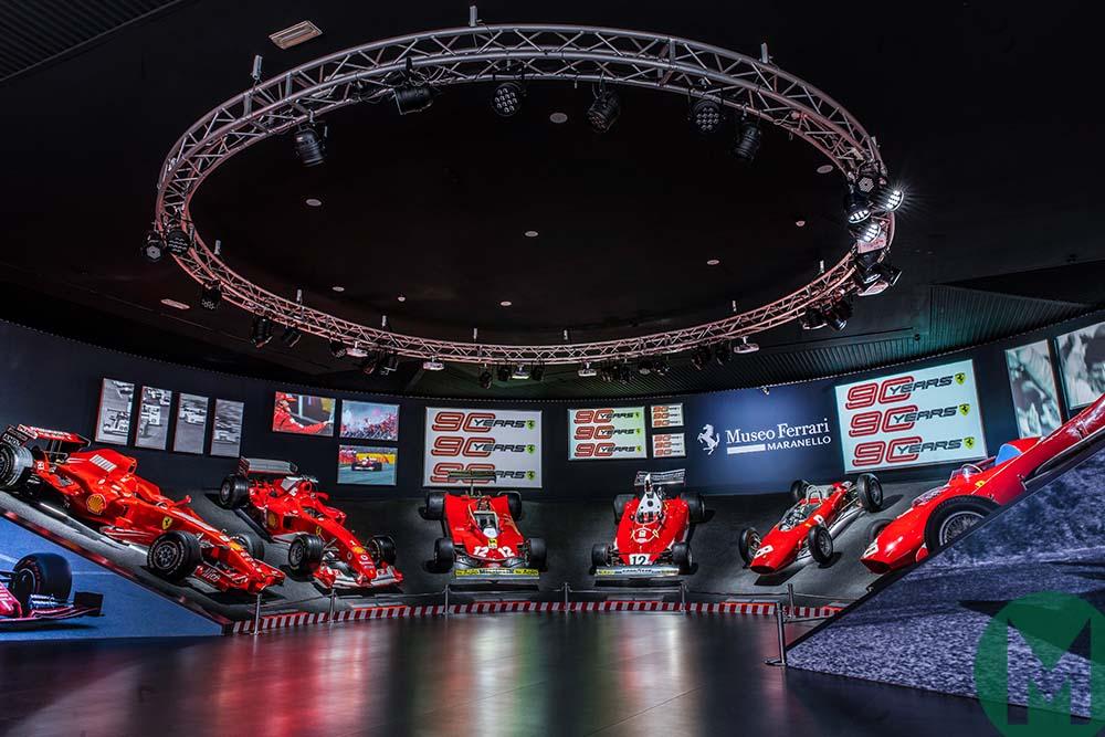 Ferrari 90 Years exhibition