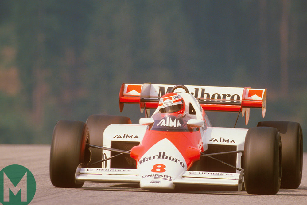 1984 Austrian Grand Prix, Niki Lauda