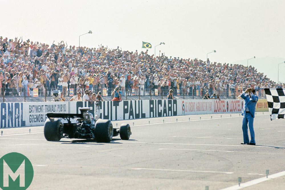 The 1973 French F1 Grand Prix: Peterson breaks his duck