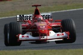 Michael Schumacher's 2002 F1 championship-winning Ferrari sells for £4.5million
