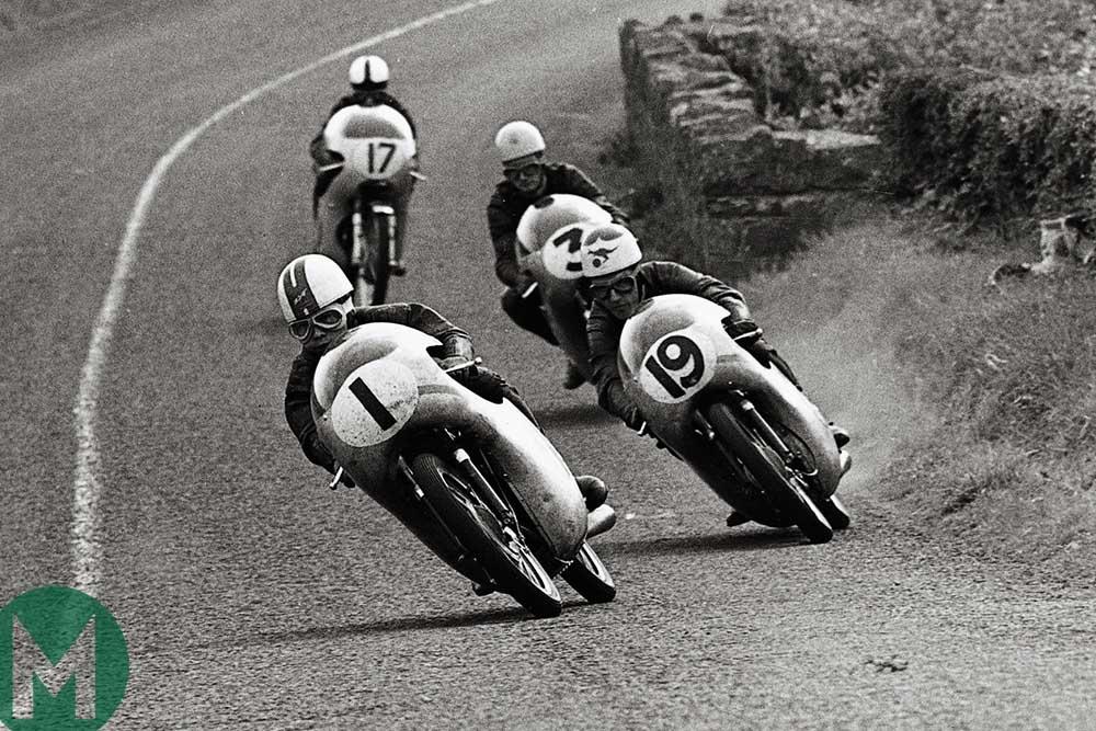 Kunimitsu Takahashi leads the 1961 Ulster Grand Prix