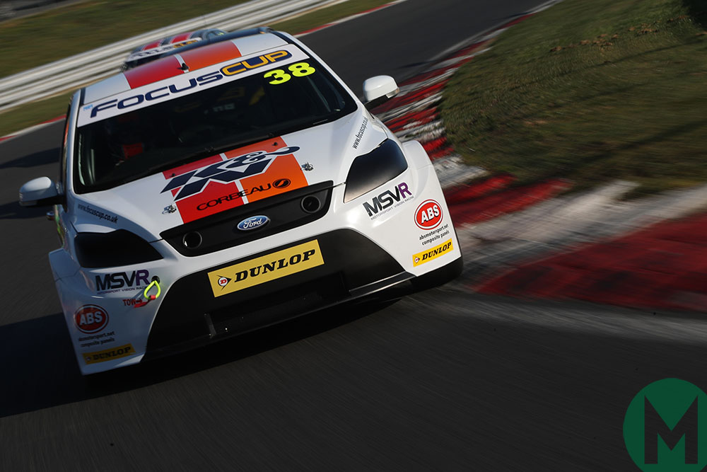 2019 Ford Focus Cup car cornering