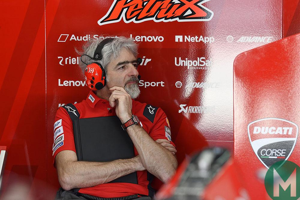 Ducati Corse general manager Gigi Dall'Igna