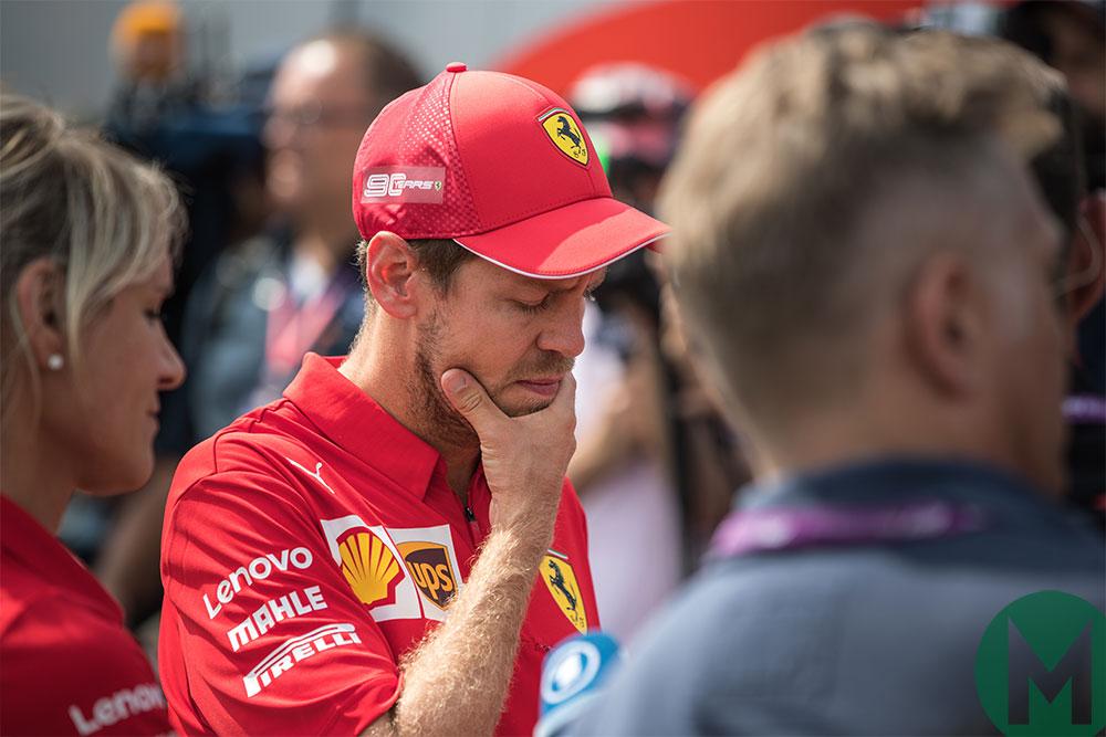 Vettel Ferrari German GP 2019 qualifying