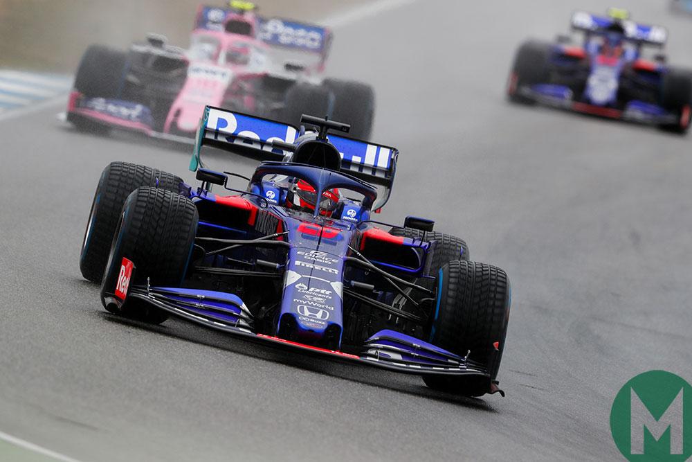 Daniil Kvyat Lance Stroll Toro Rosso Racing Point 2019 German GP