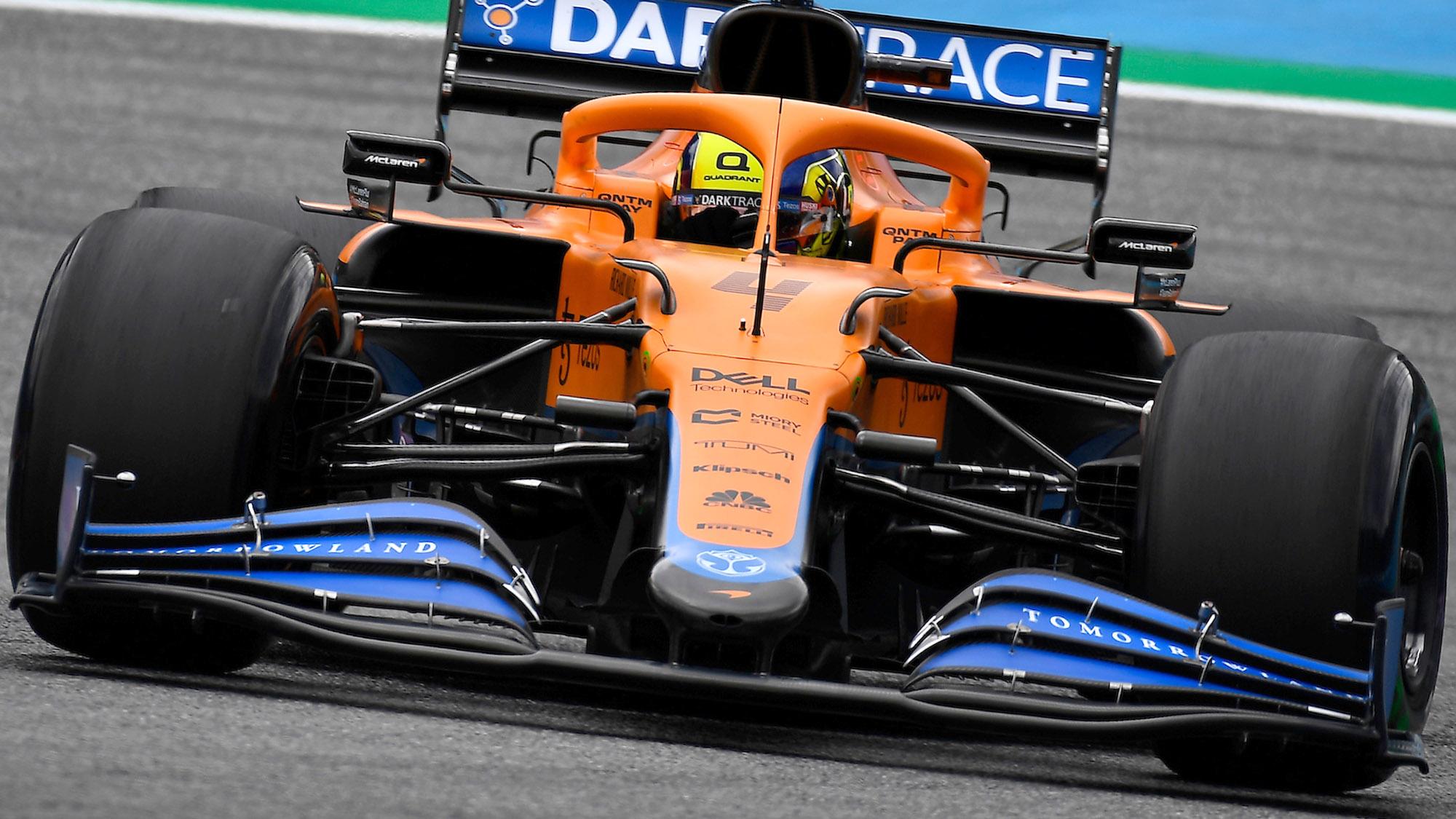 Lando Norris McLaren 2021