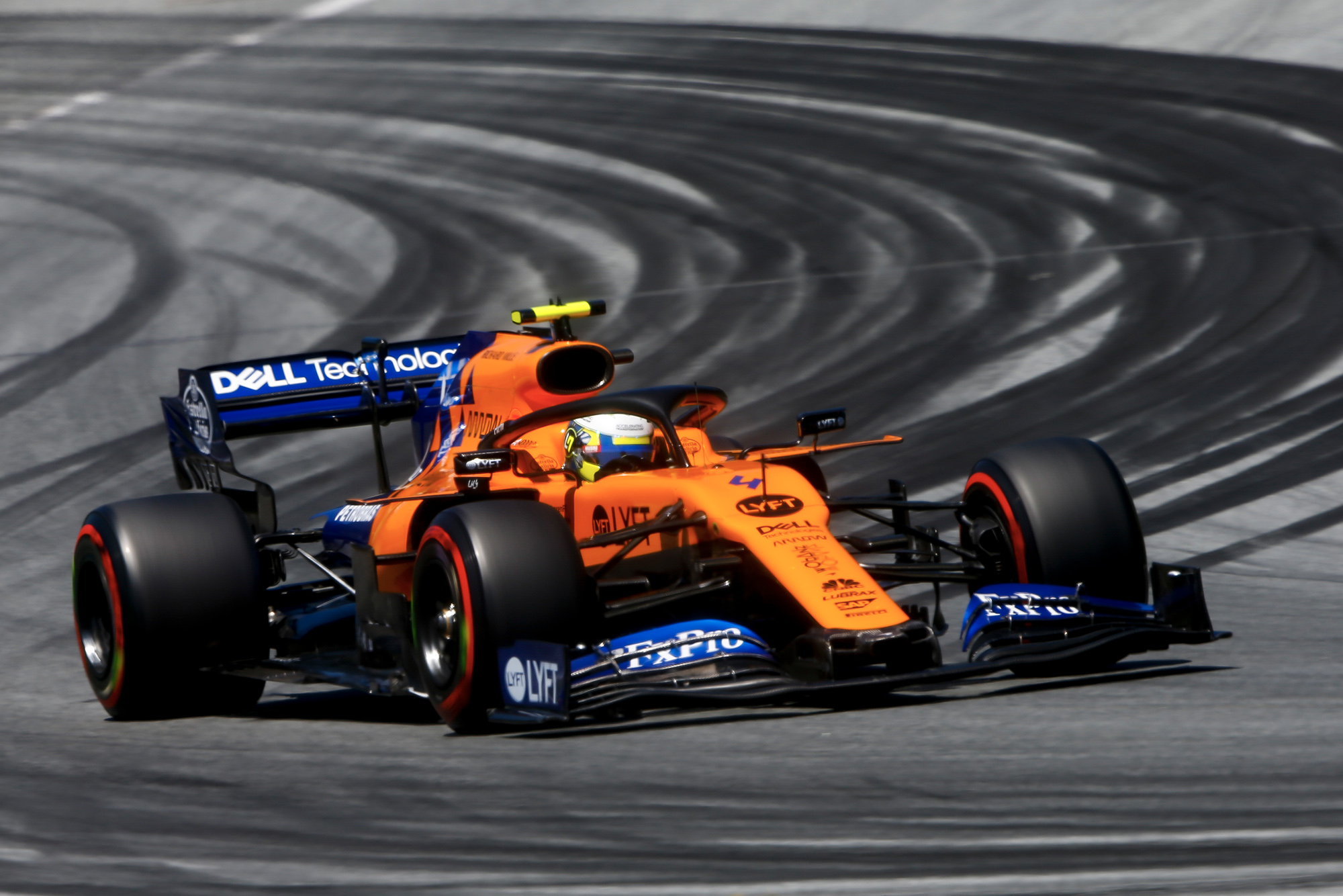 Lando Norris in the 2019 Austrian Grand Prix