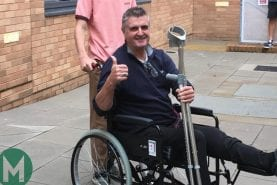 """""""I will fight it"""" – Martin Donnelly determined to make his latest recovery"""