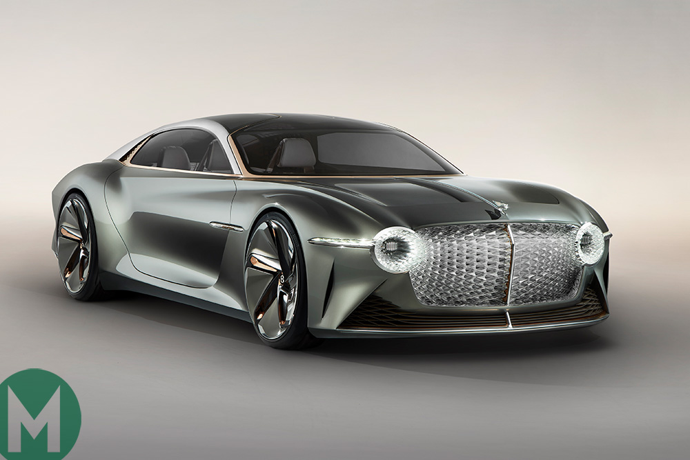 Bentley unveils EXP 100 GT concept car: an all-electric vision of the future