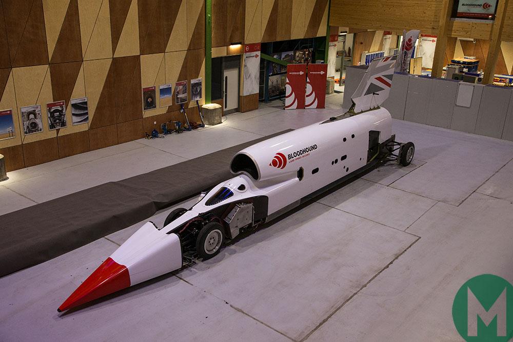 Bloodhound LSR car