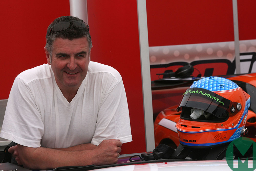Martin Donnelly competing in Ginettas in 2010