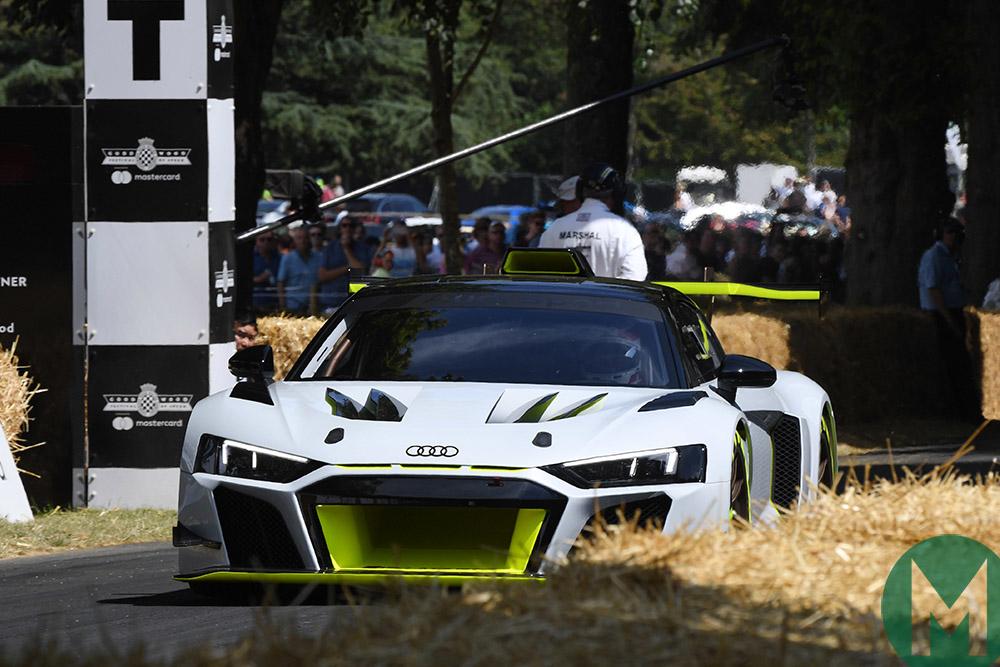 2019 Goodwood Festival of Speed Audi R8 GT2