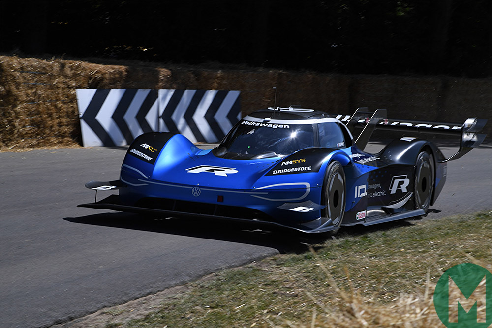 Volkswagen ID R at 2019 Goodwood Festival of Speed